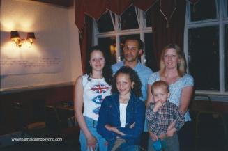 Lauren, Mickey, Fiona, Raegan, Mason