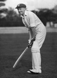Sir Donald Bradman Portrait