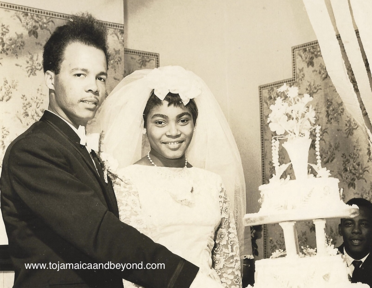1963 - Jamaican Wedding Cake